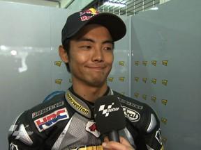 Aoyama fährt bestes Resultat 2010 ein