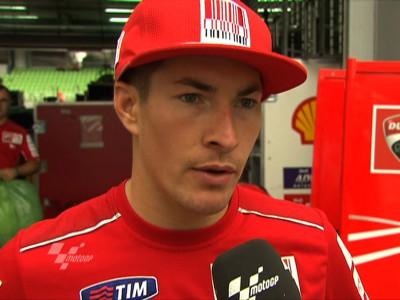 Carrera complicada para Hayden y Stoner en Malasia