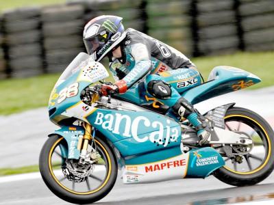 Smith heads up 125cc warm up
