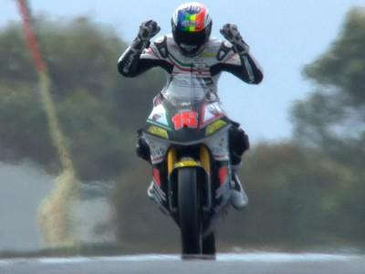 De Angelis remporte sa première victoire en Moto2 à Phillip Island