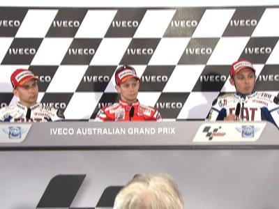 第16戦オーストラリアGP:プレスカンファレンス~ポストレース