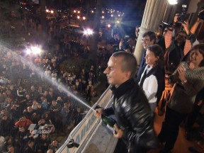 Lorenzo receives a memorable welcome in Mallorca