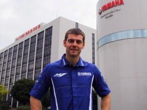 Crutchlow fait son premier test sur la Yamaha YZR-M1 au Japon