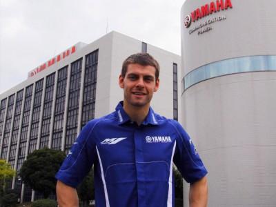 Crutchlow prueba por primera vez la Yamaha YZR-M1