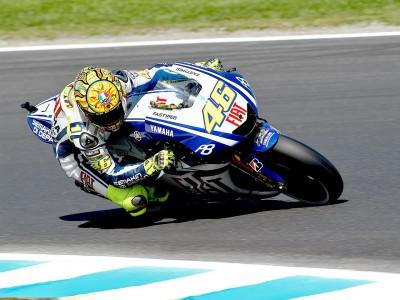 Rossi quer terminar com vitórias