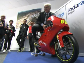 Ioda Racing Moto3 project presented at Estoril