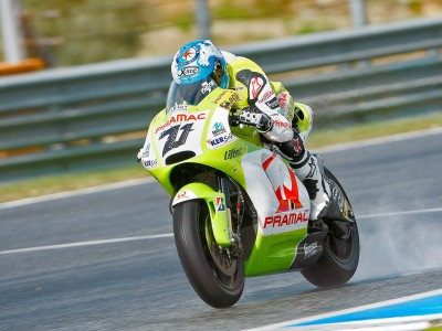 Complicated first day back in MotoGP for Checa