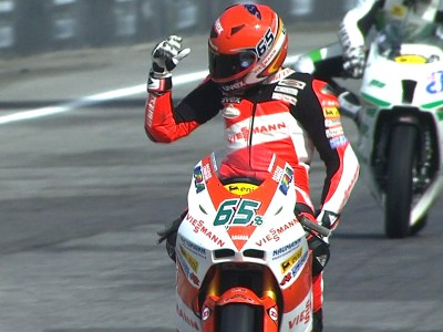 Bradl triumphs in thrilling Moto2 Estoril race