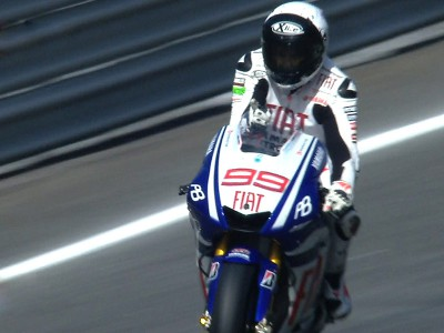 Lorenzo strong in victory at Estoril