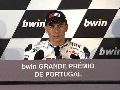 La conférence de presse de la course d'Estoril