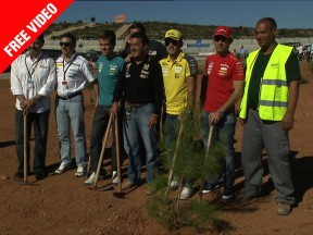 The Repsol Foundation completes its tree planting project in Valencia