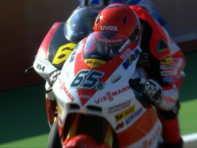 Bradl continues form with FP1 Valencia display