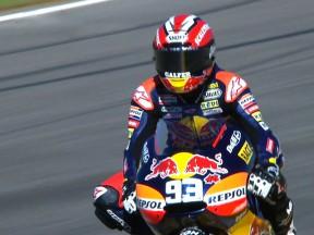 Márquez partira à la conquête du titre en pole position à Valence