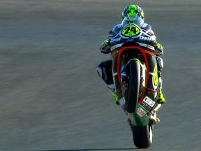 Elías saldrá desde la pole en su última carrera de Moto2