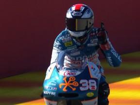 Smith wins in Valencia as Márquez seals 125cc title