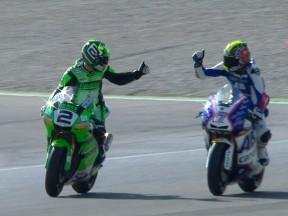 Abraham cierra con una victoria su etapa en Moto2