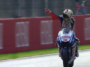 Lorenzo remata el Campeonato con un gran triunfo en Valencia