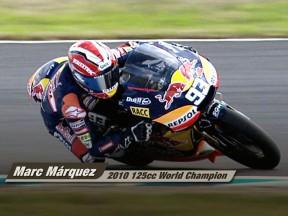 Marc Márquez: 2010 125cc World Champion