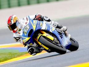 Las Moto2 entran en acción en el test de Valencia