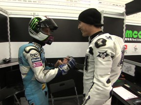 Moto2 class wrap up day Test at Valencia