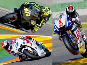 MotoGPオフィシャルテスト:バレンシア1日目