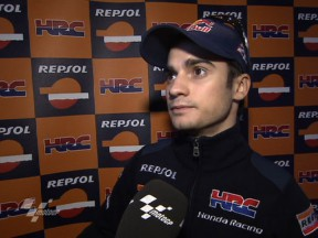 Pedrosa works hard through pain