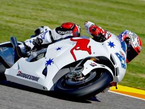 Stoner beschließt Valencia Test als Schnellster