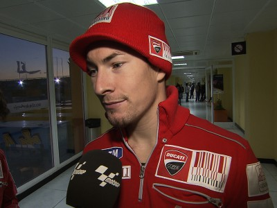 Anche Nicky Hayden vota big bang