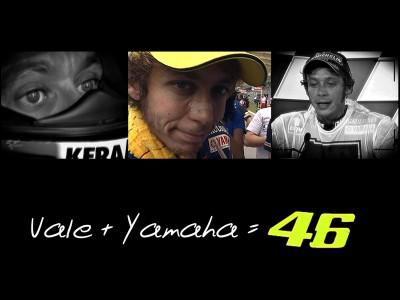 Rossi e a Yamaha: De início a fim