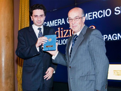 Dorna Sports receives 'Best Spanish Business' Award in Italy