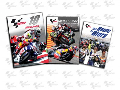 Official 2010 MotoGP Season Review DVDs on sale now