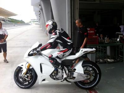 Le HRC reprend son programme d'essais MotoGP à Sepang