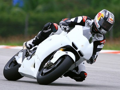 HRC MotoGP test at Sepang ends 2010 on-track development work