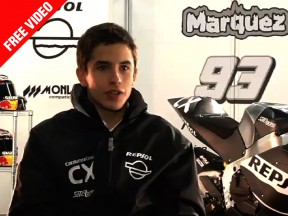 Marc Márquez analyses his first steps in Moto2