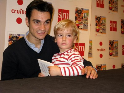 Pedrosa launches his children's book