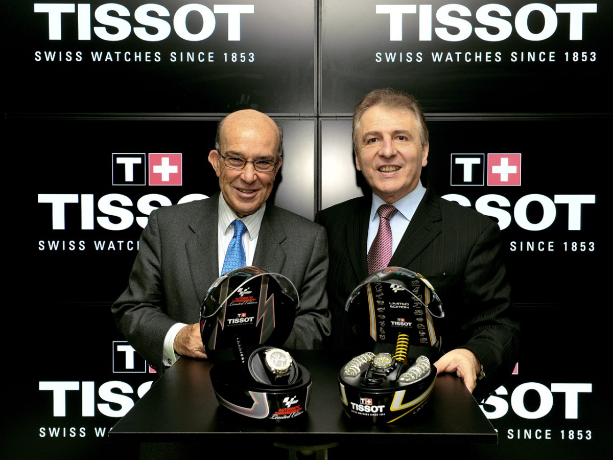 Tissot to continue as Official Timekeeper of MotoGP