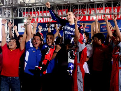 Indonesia welcomes back World Champion Jorge Lorenzo