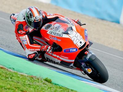 Ducati finaliza su test con la GP11 en Jerez