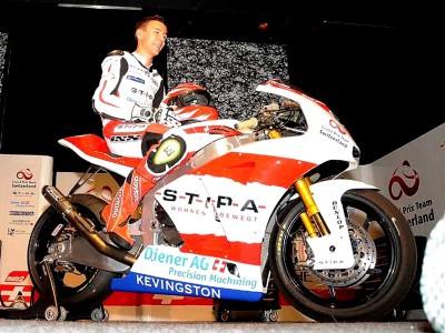 Krummenacher's Moto2 bike presented