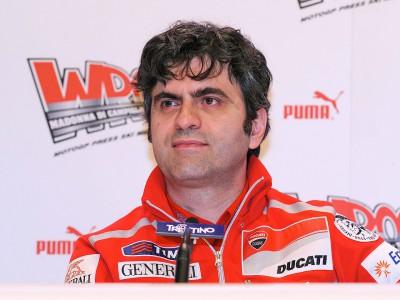 Filippo Preziosi on the Desmosedici GP11