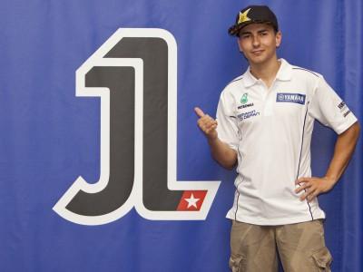 MotoGP-Weltmeister Jorge Lorenzo bestätigt, dass er mit Nr. 1 fahren wird
