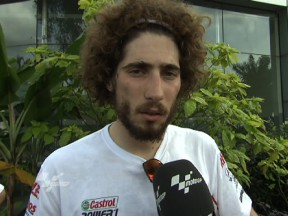 Simoncelli '100% happy' with Sepang experience