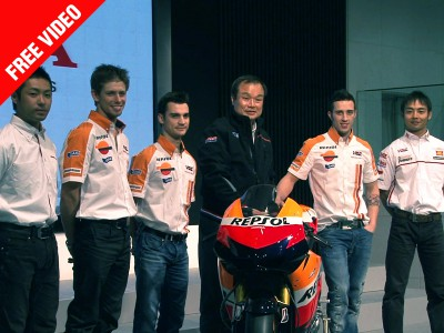 Honda presents its sporting programme in Tokyo