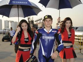 Jorge Lorenzo and Ben Spies visit Thailand to meet their fans