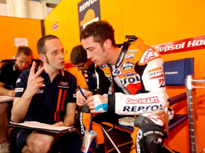 Dovizioso: 'I go back home happy to have been among the fastest'