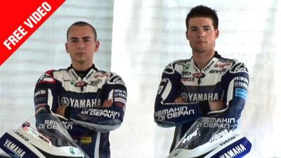 Yamaha Factory Racing present 2011 livery