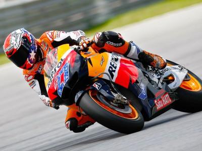 Honda assume controlo no início do Teste de Sepang