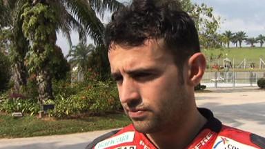 Barberá, segundo mejor piloto de Ducati en el arranque de Sepang