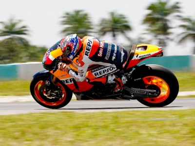 Repsol Honda trio dominate day two timesheet in Malaysia