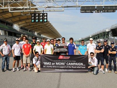 MotoGP riders support Sepang Circuit fundraising